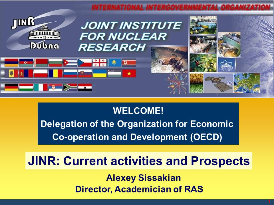 JINR: Current activities and Prospects