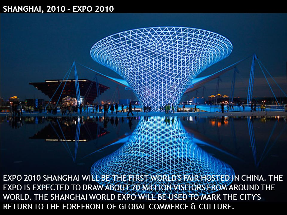 SHANGHAI, 2010 - EXPO 2010