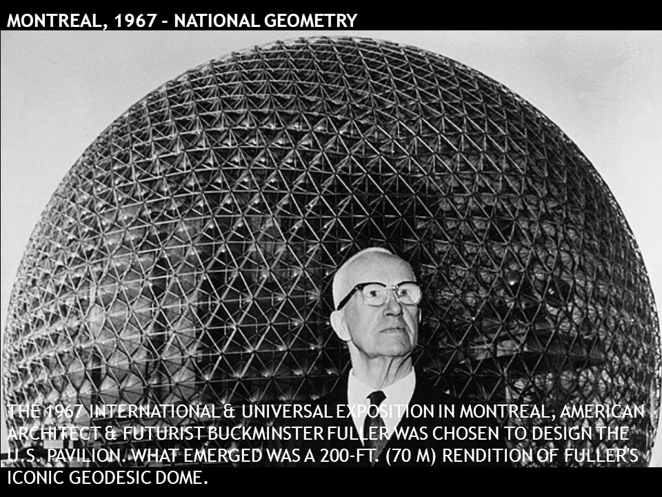 MONTREAL, 1967 - NATIONAL GEOMETRY