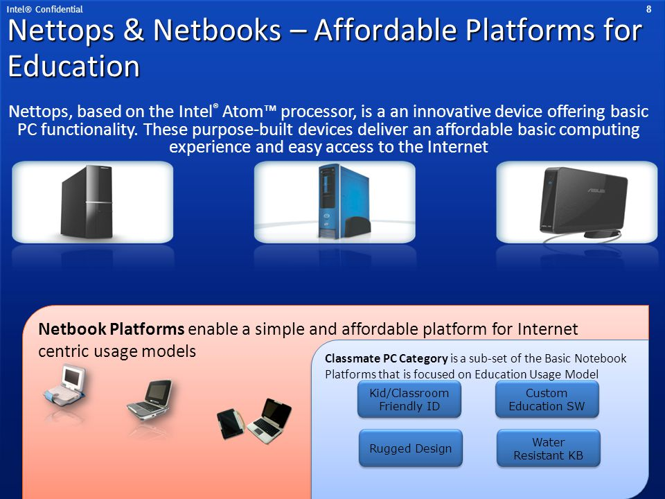 Nettops & Netbooks – Affordable Platforms for Education