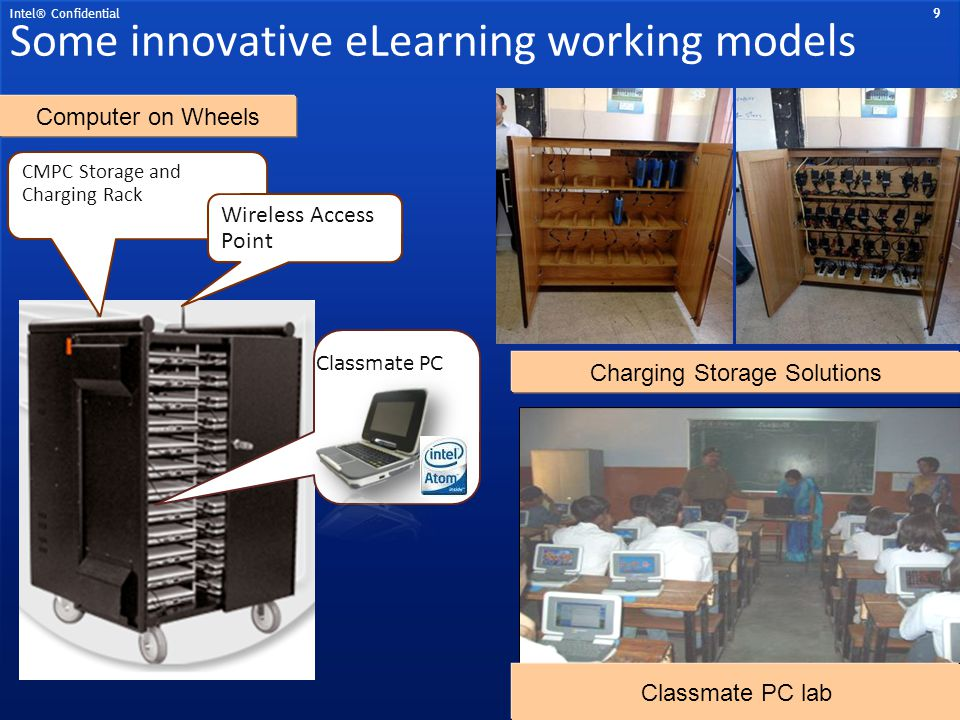 Some innovative eLearning working models