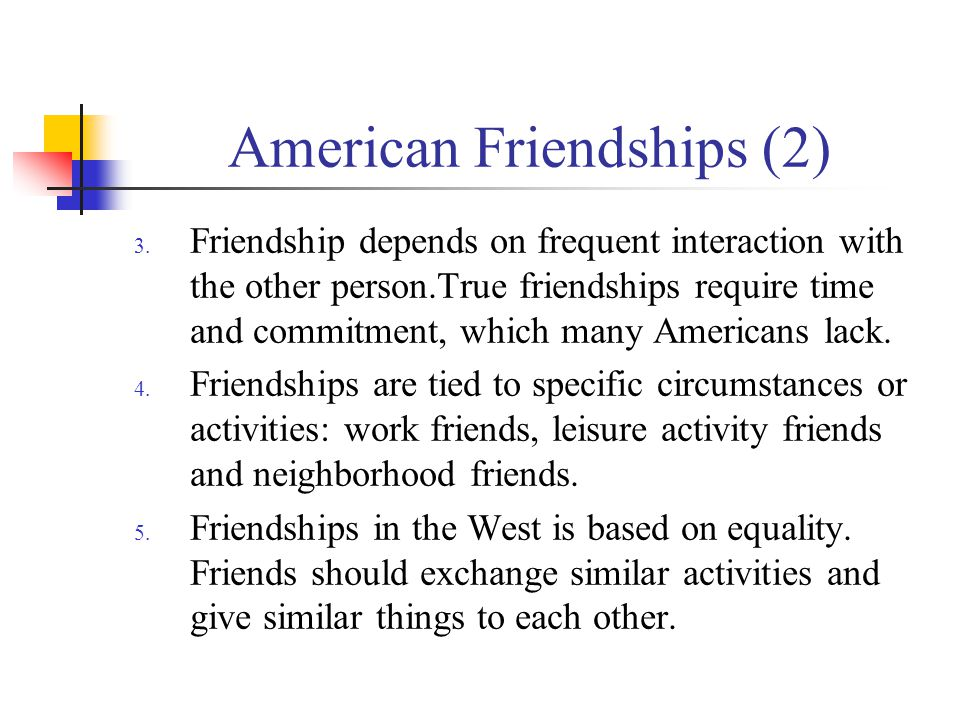 American Friendships (2)