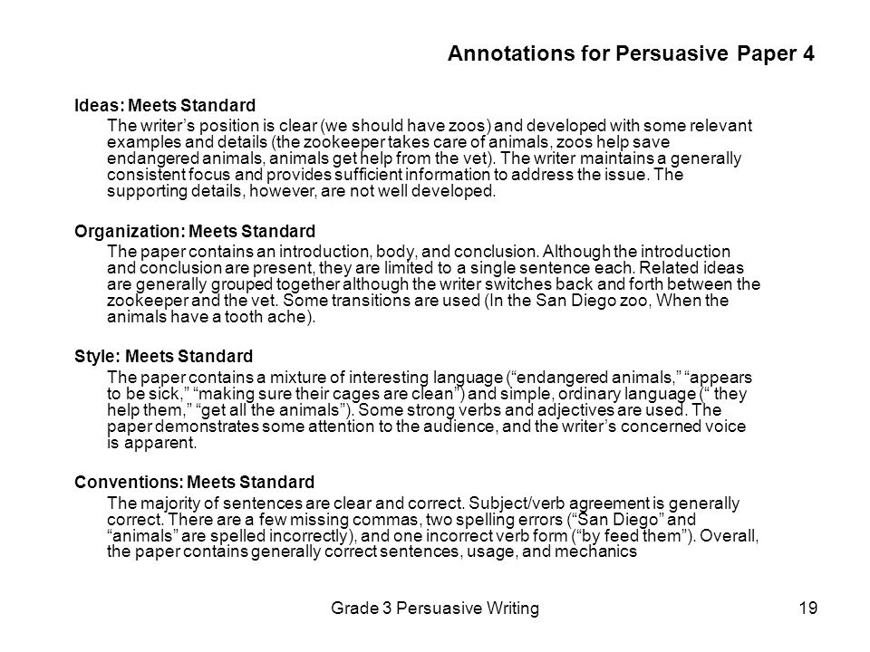 Annotations for Persuasive Paper 4