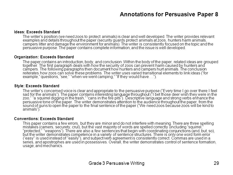 a arguementative essay Persuasive essays are a great way to encourage the reader to look at a certain topic in a different light after reading your essay, you want the reader to think about your topic in a way.