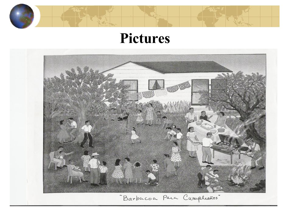 Pictures SLIDE 24: Grade Level: 1st & 2nd TEKS: 113.3 (b) (15) (A); 113.4 (b) (15) (A)
