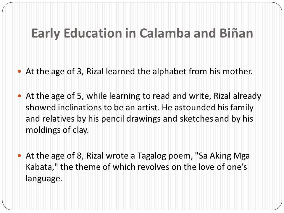 Early Education in Calamba and Biñan