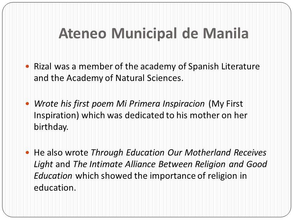 Ateneo Municipal de Manila