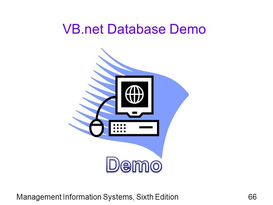 Demo VB.net Database Demo
