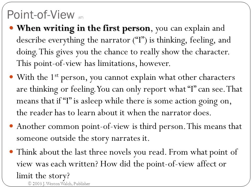 Point-of-View (67)