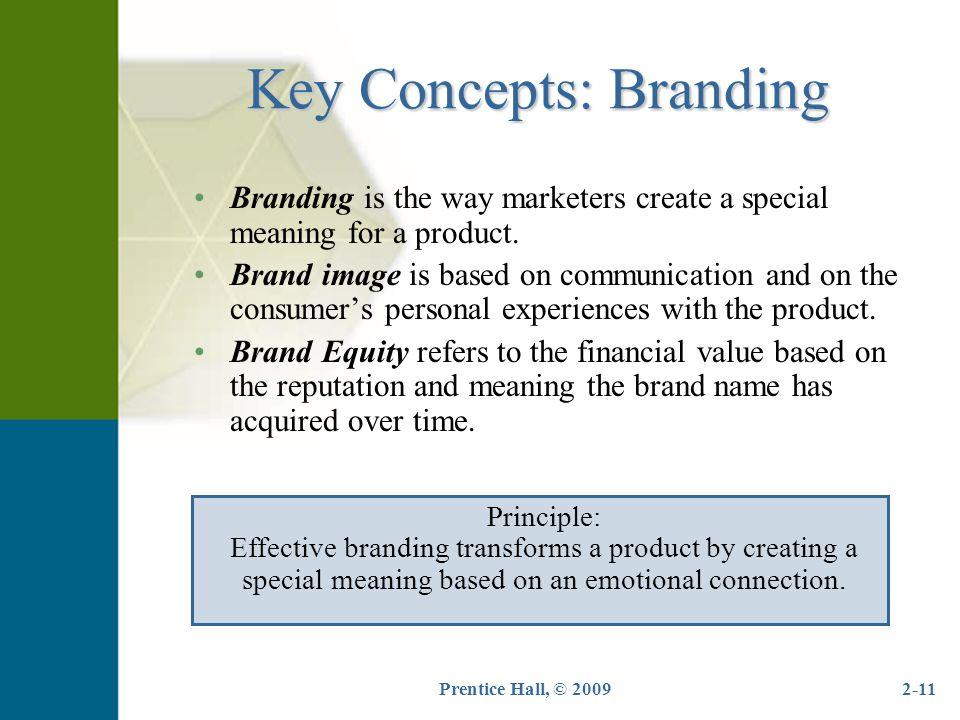 Key Concepts: Branding