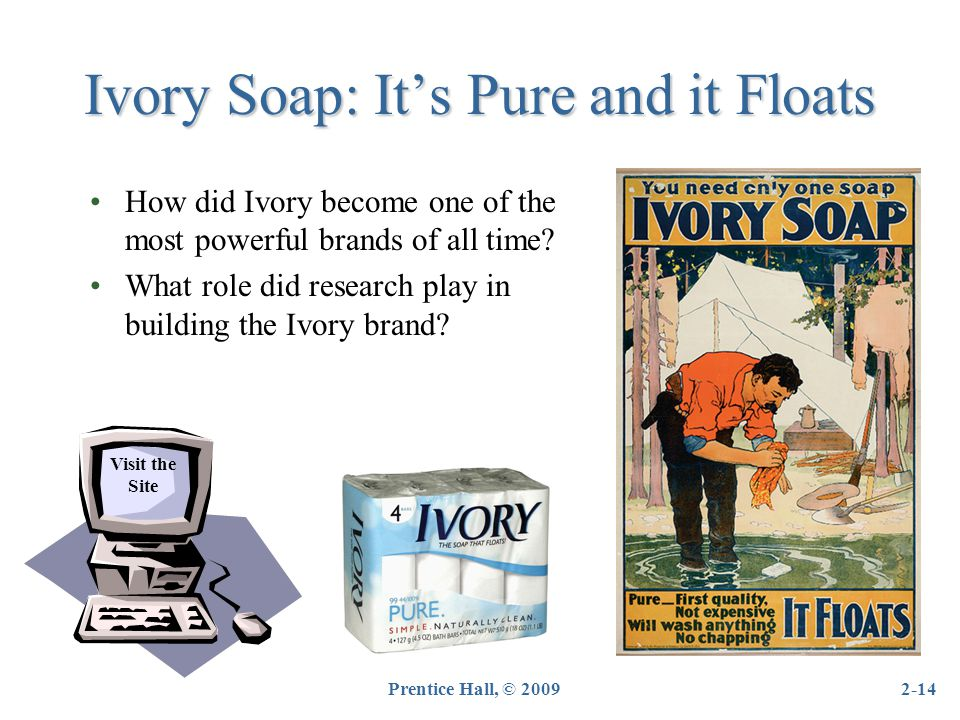 Ivory Soap: It's Pure and it Floats