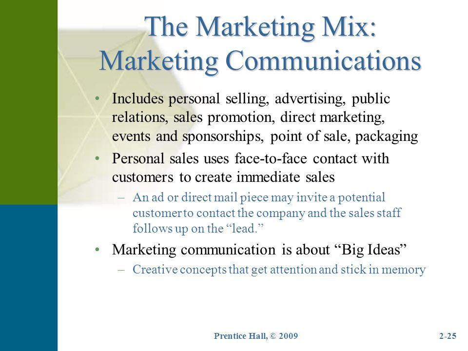 The Marketing Mix: Marketing Communications
