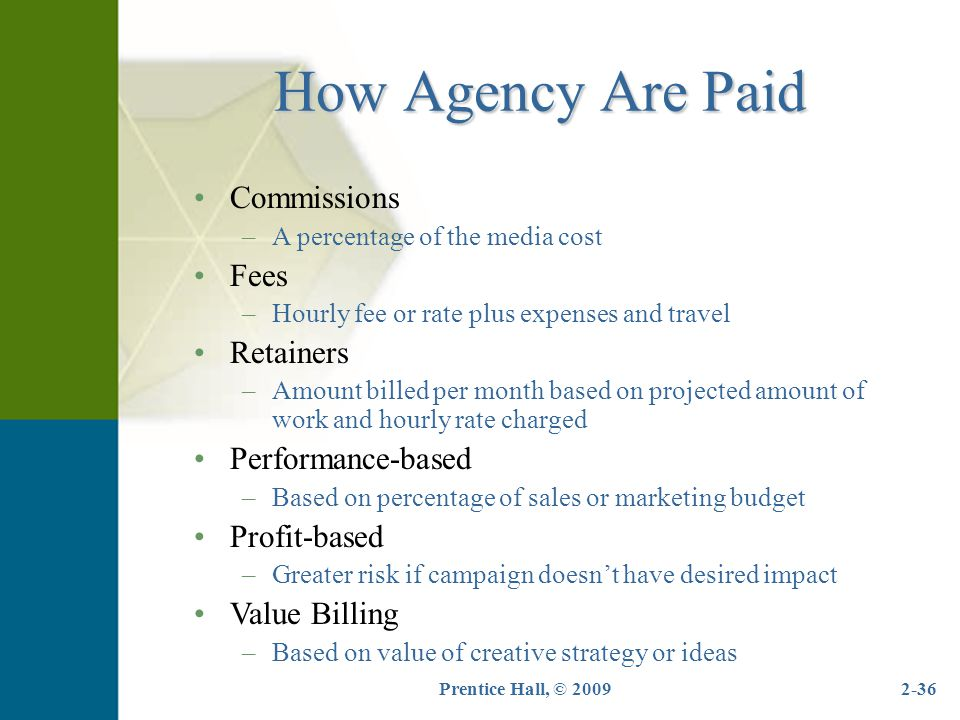 Advertising s role in marketing ppt video online download for Advertising agency fees