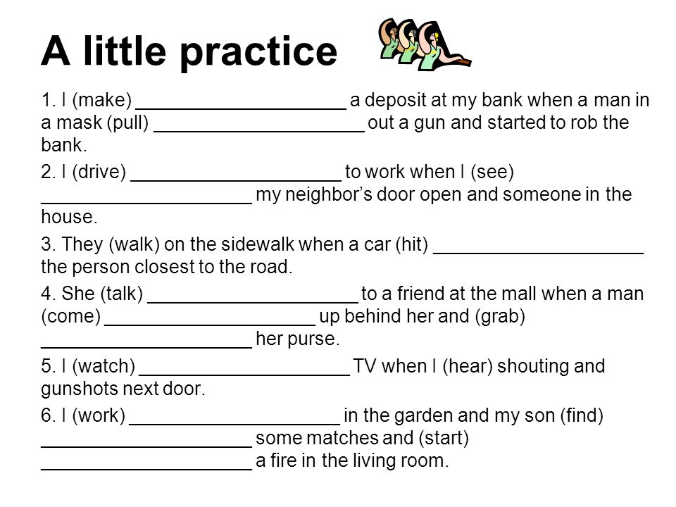 A little practice
