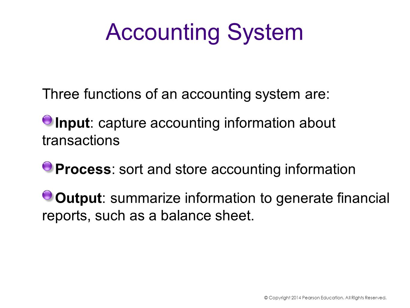 accounting information system report An accounting information system (ais) is a structure that a business uses to  collect, store, manage, process, retrieve and report its financial.