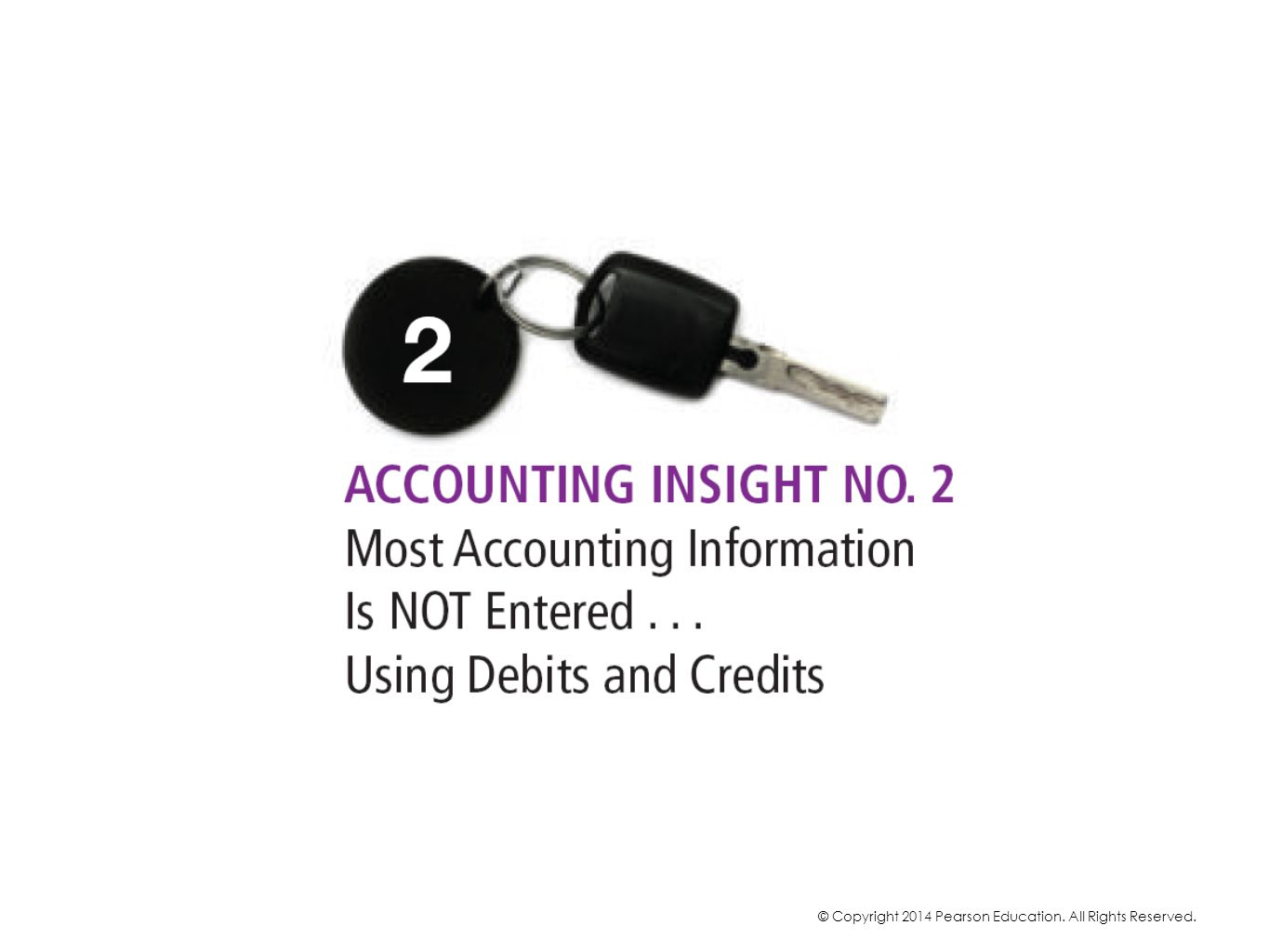 When entering accounting information into an accounting system, debits and credits are usually NOT used. Typically, debits and credits are used for journal entries only to make adjustments and corrections.