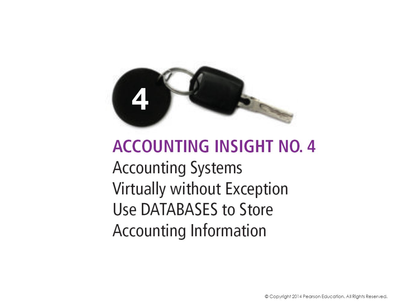 When we enter information into an accounting system, almost all accounting systems use databases to store the information. We may never see the database onscreen or have any indication the accounting system is using a database.
