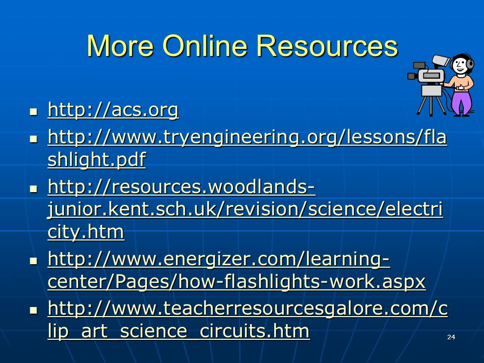 More Online Resources http://acs.org