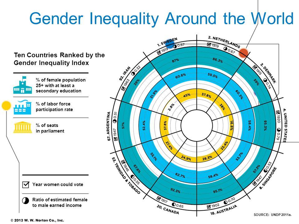 Gender Inequality Around the World
