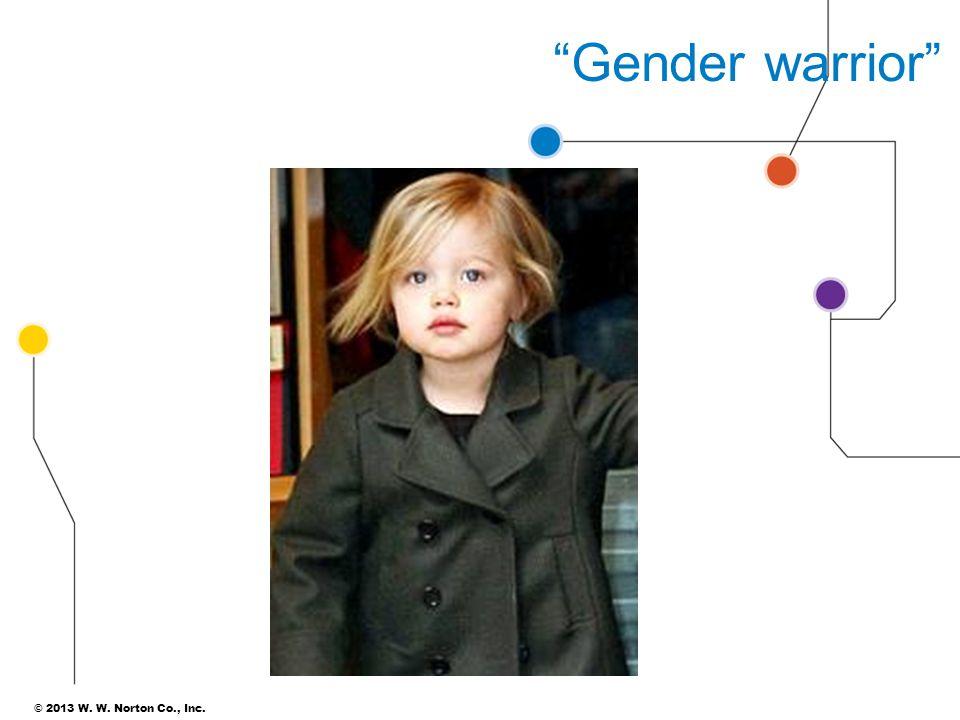 Gender warrior