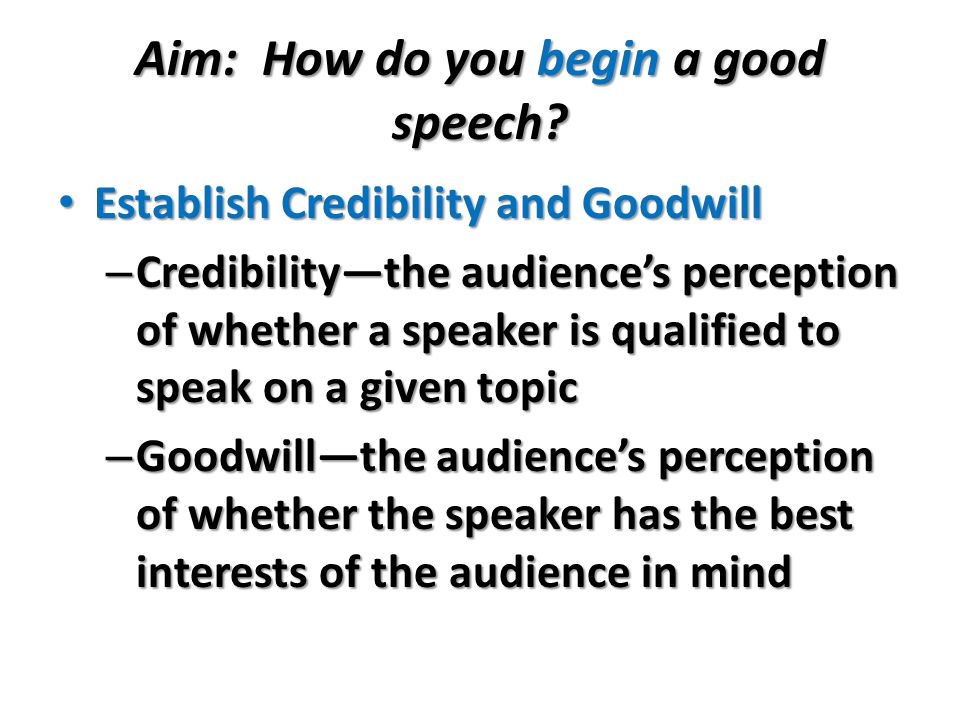 do now  here are six speech topics  explain how you might