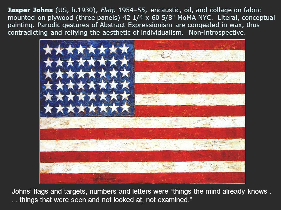 Jasper Johns (US, b. 1930), Flag