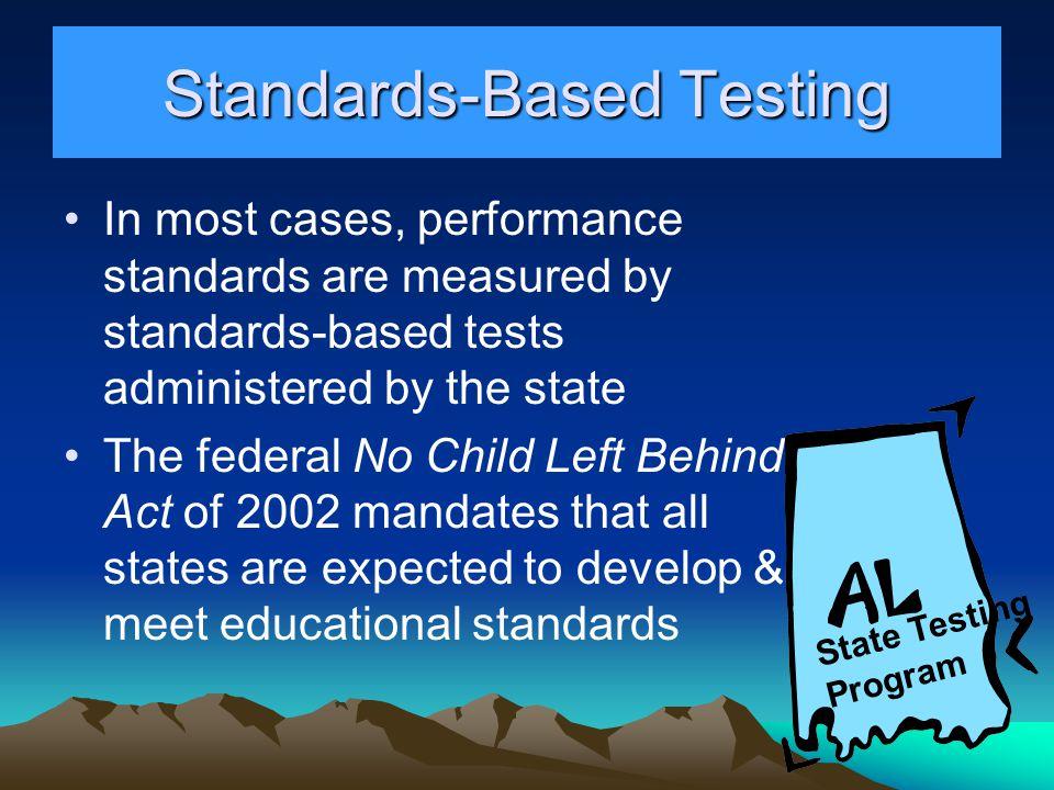 Standards-Based Testing