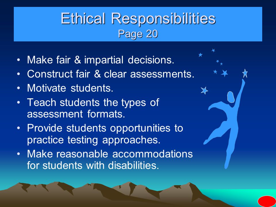 Ethical Responsibilities Page 20