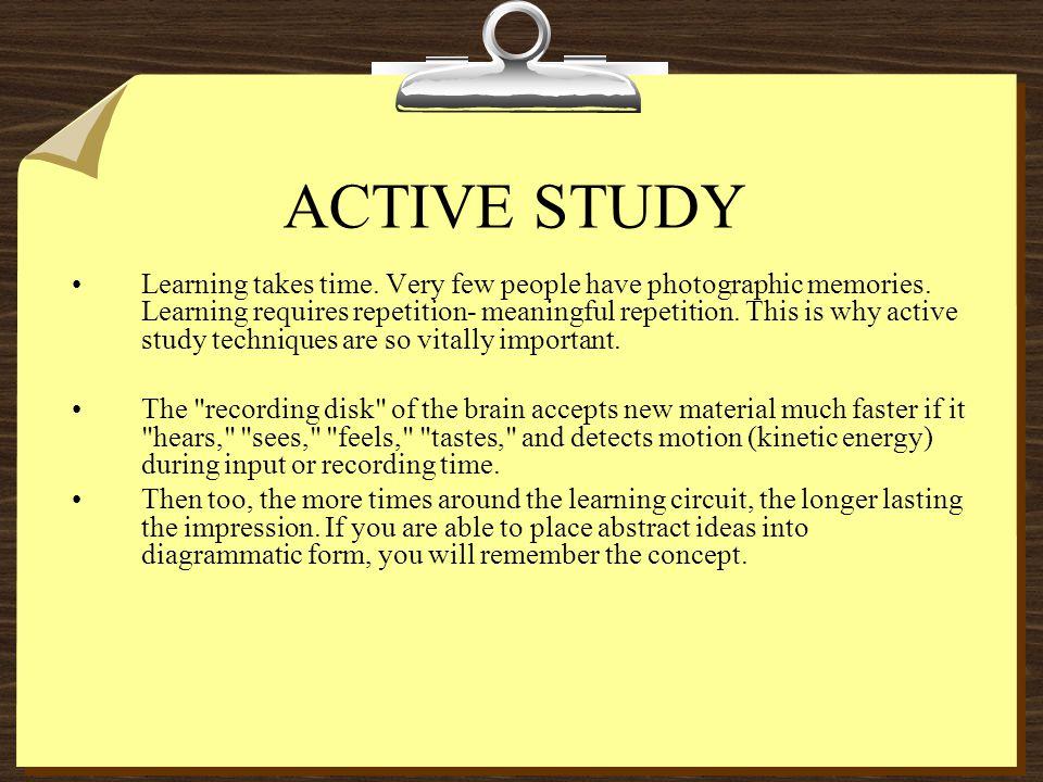 ACTIVE STUDY