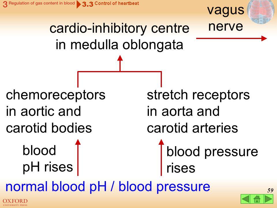 cardio-inhibitory centre in medulla oblongata