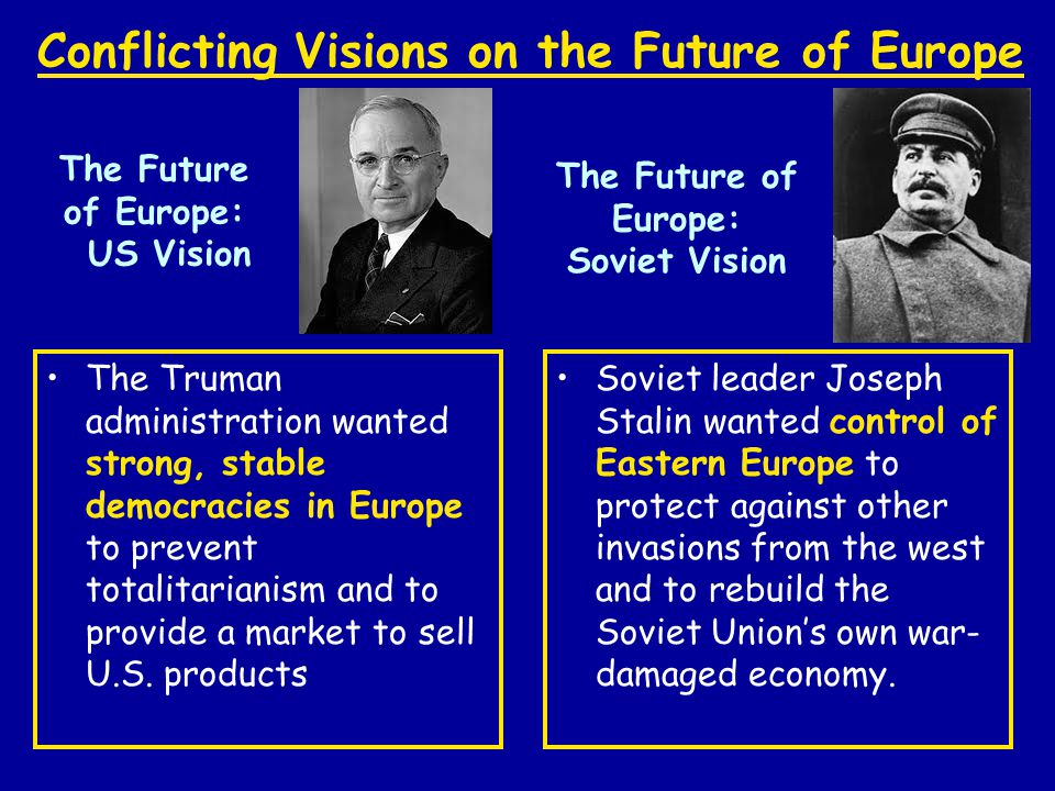 The Future of Europe: US Vision