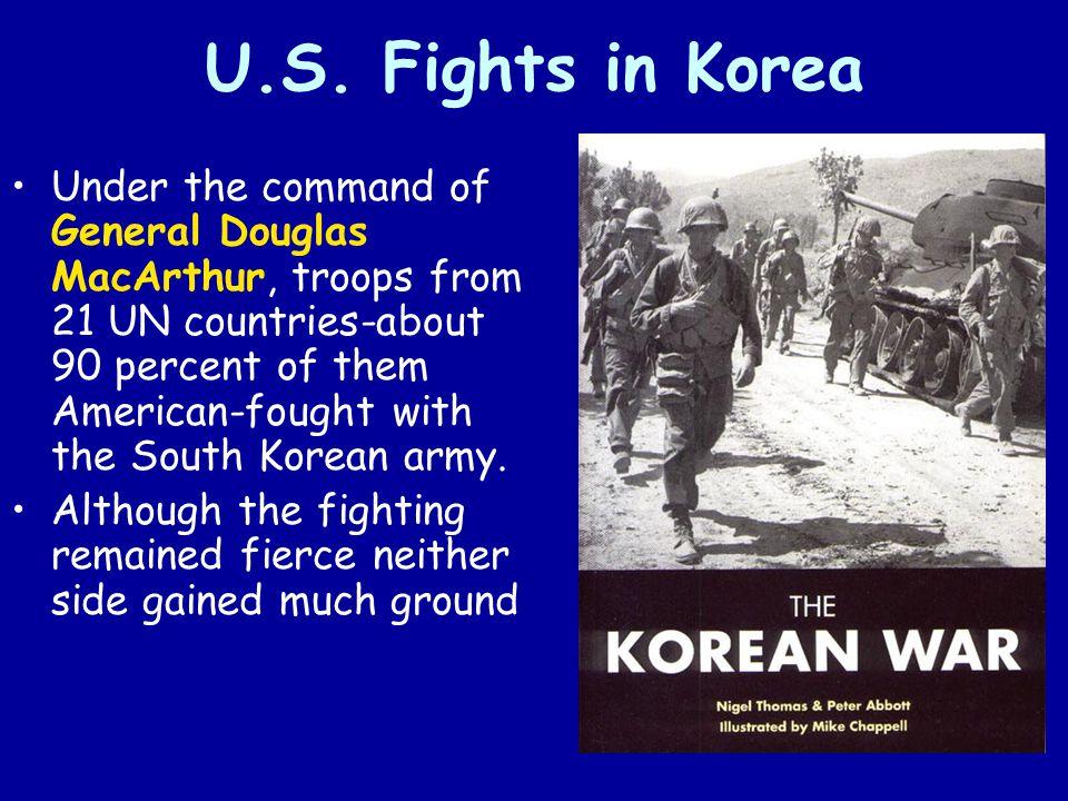 U.S. Fights in Korea