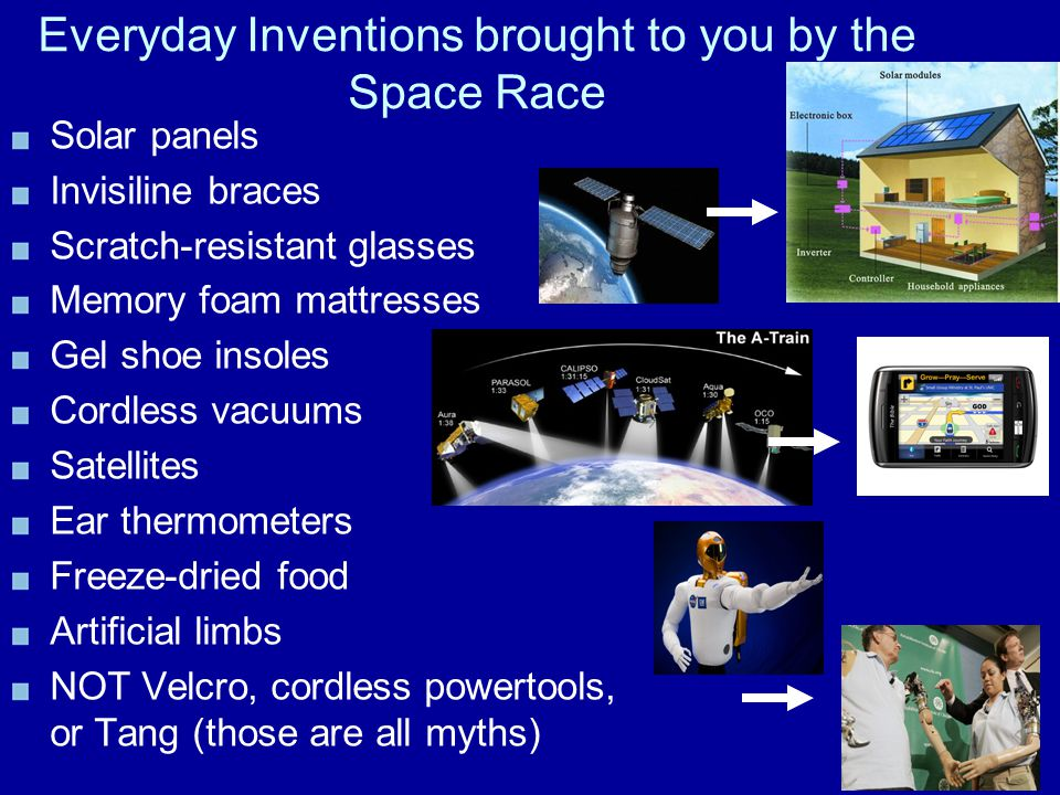 Everyday Inventions brought to you by the Space Race