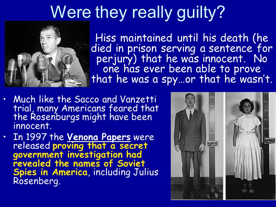 Were they really guilty