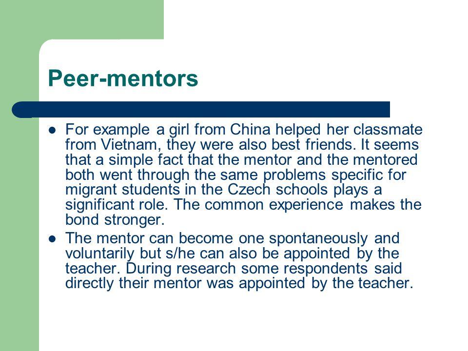 Peer-mentors