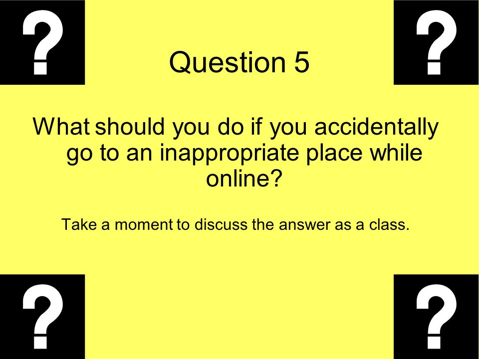 Take a moment to discuss the answer as a class.