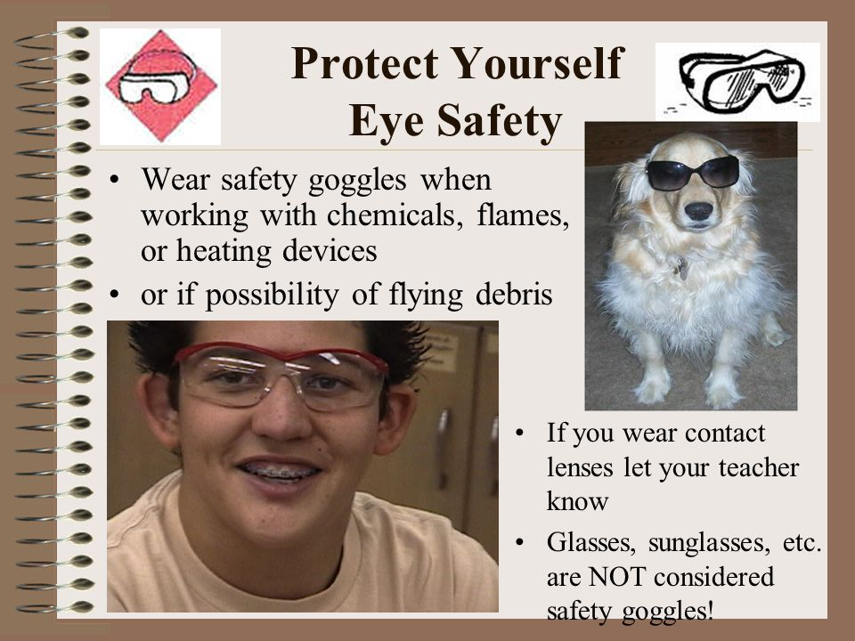 Protect Yourself Eye Safety