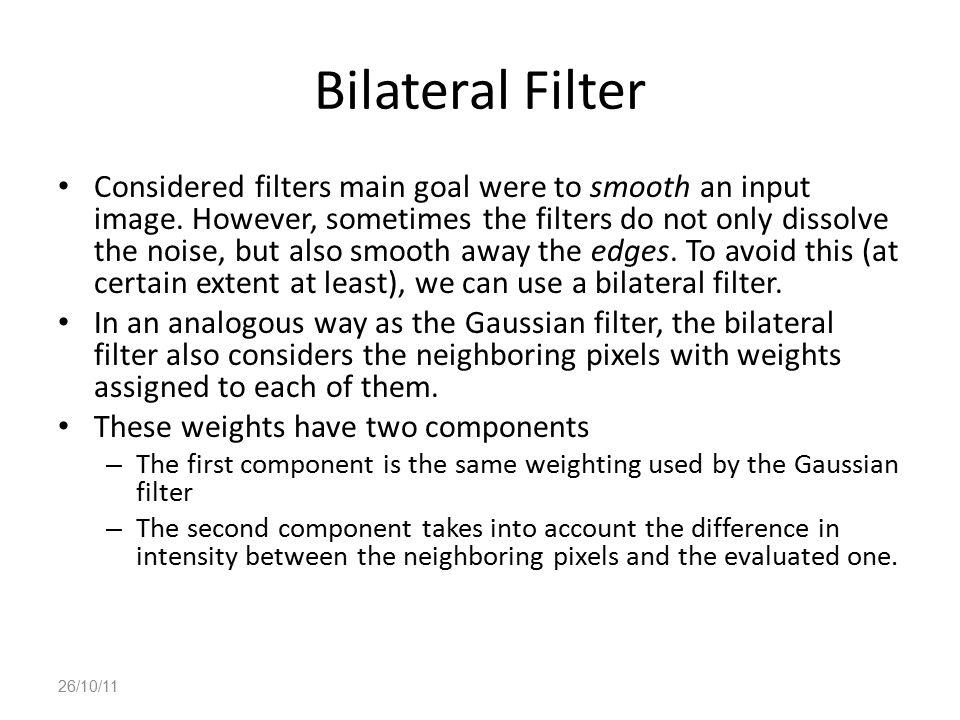 Bilateral Filter