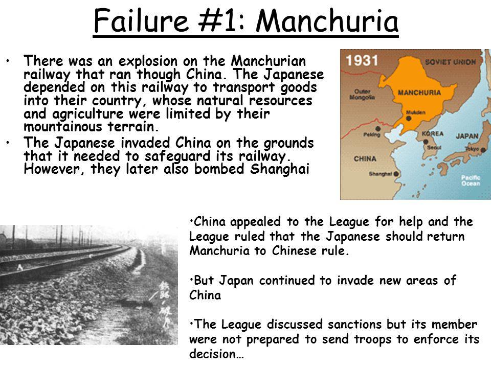 Failure #1: Manchuria