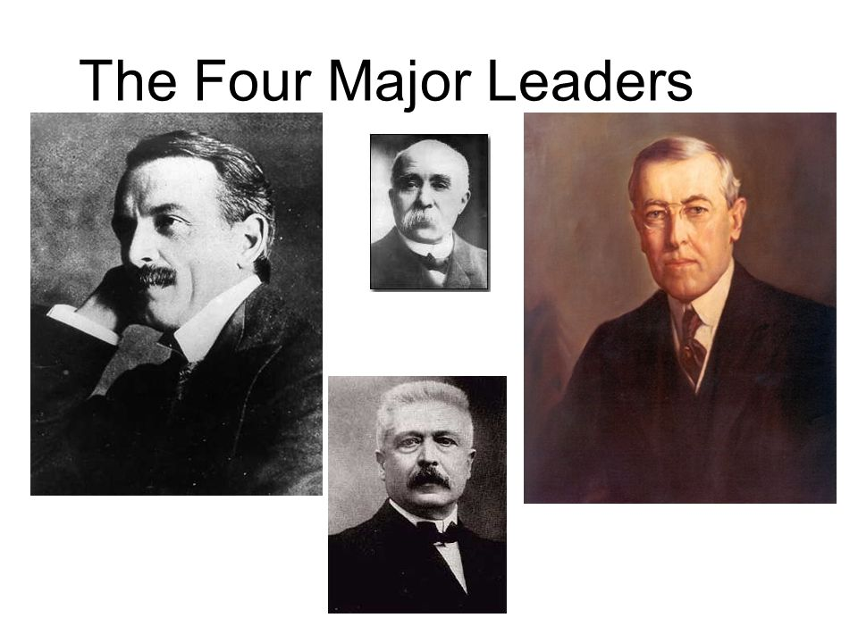 The Four Major Leaders
