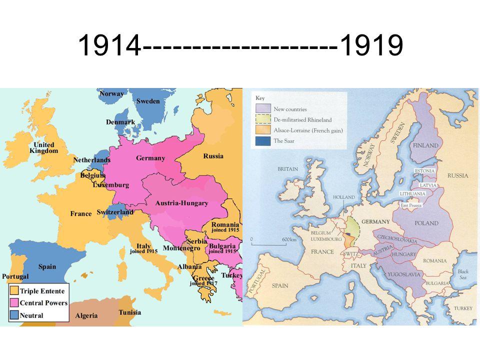1914--------------------1919