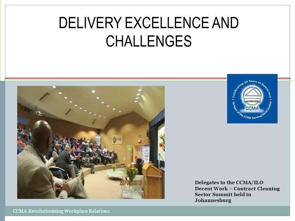 DELIVERY EXCELLENCE AND CHALLENGES