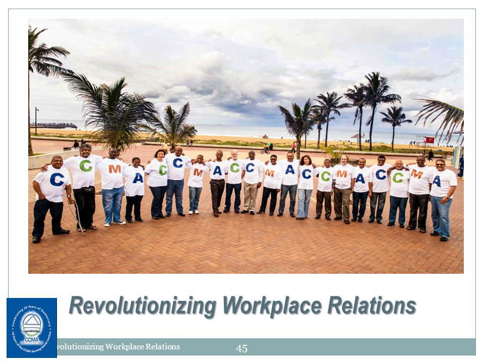 Revolutionizing Workplace Relations