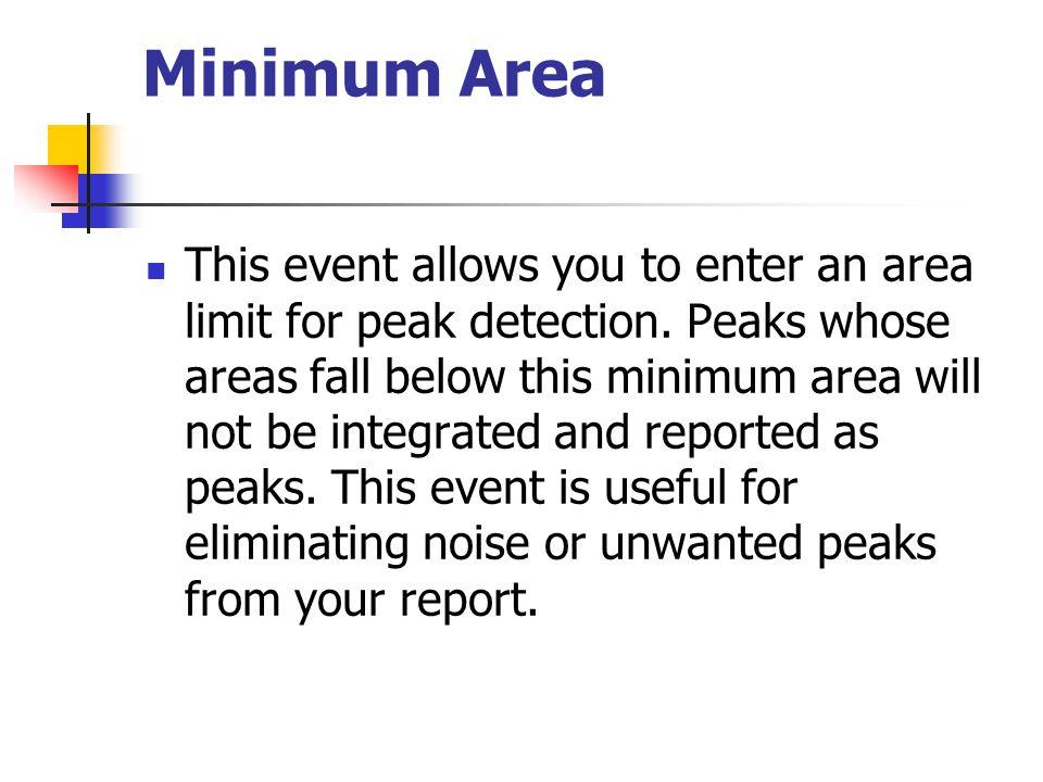 Minimum Area