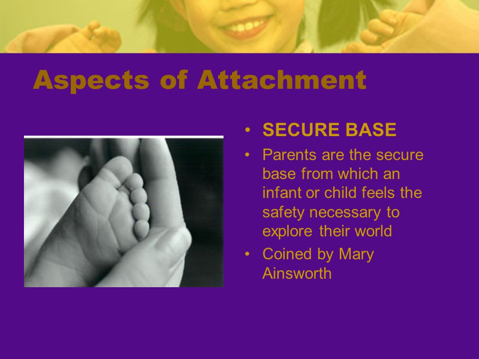 Aspects of Attachment SECURE BASE