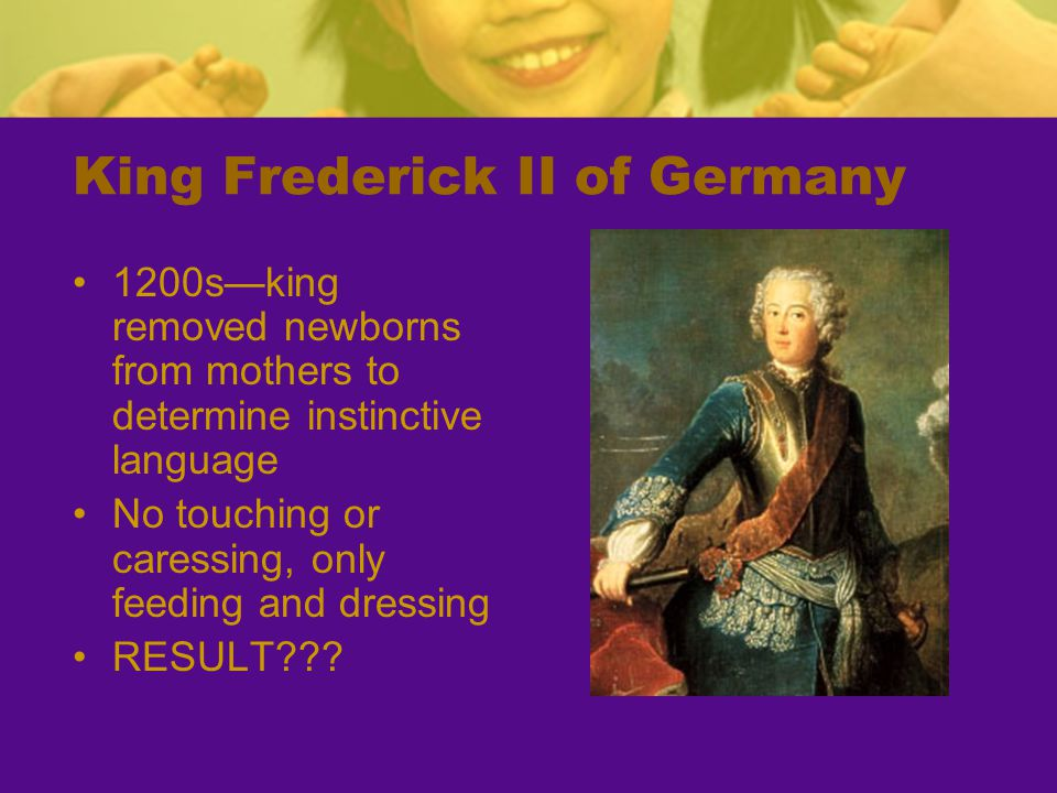 King Frederick II of Germany