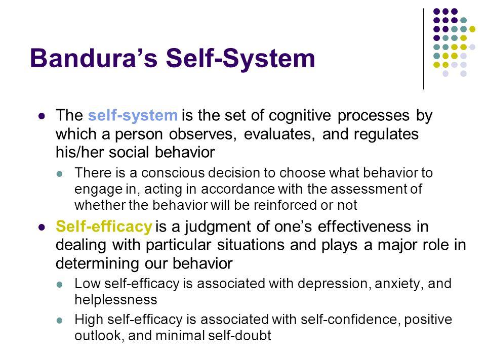 Bandura's Self-System
