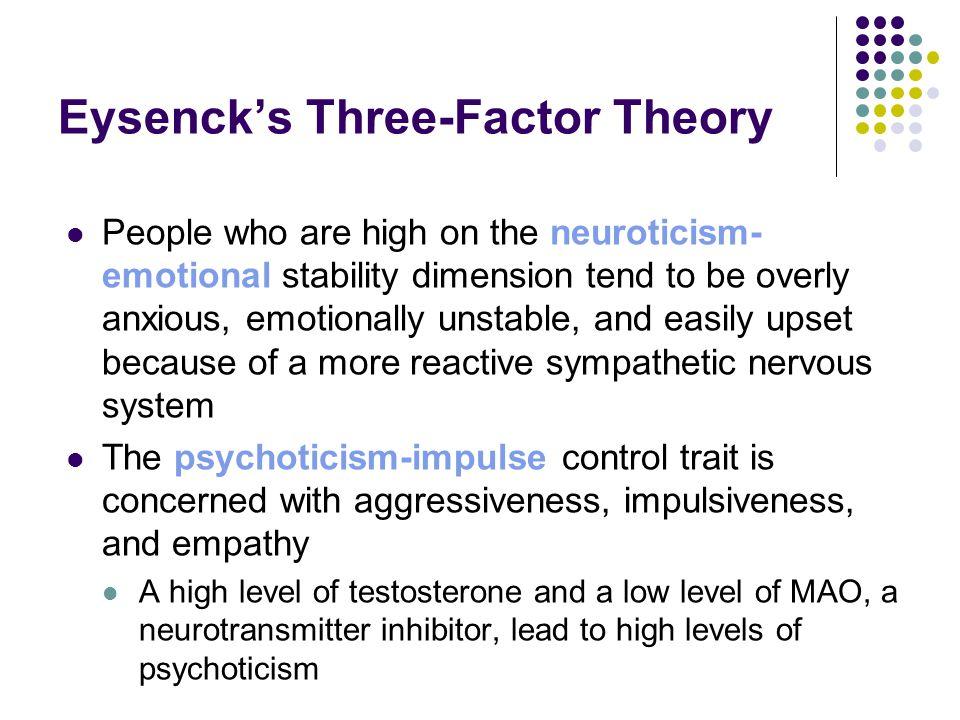 Eysenck's Three-Factor Theory