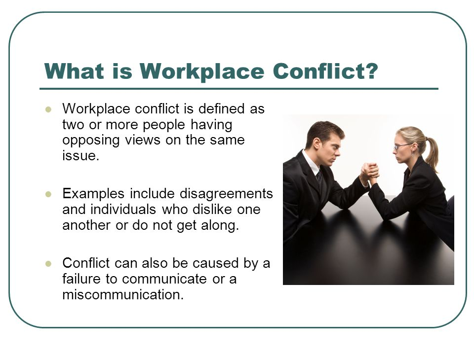 Workplace Conflict Images