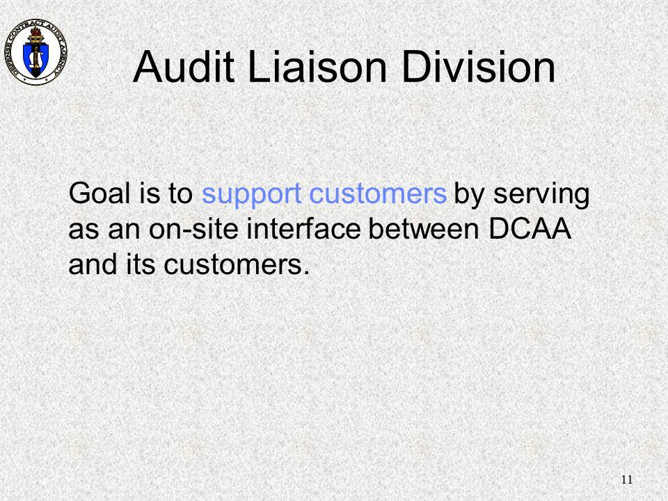 Audit Liaison Division